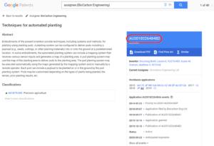 BioCarbon Engineering特許公報番号